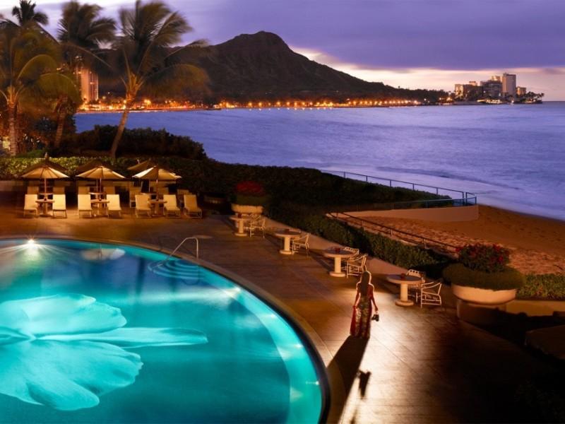 Halekulani Hotel Waikiki Beach, Oahu