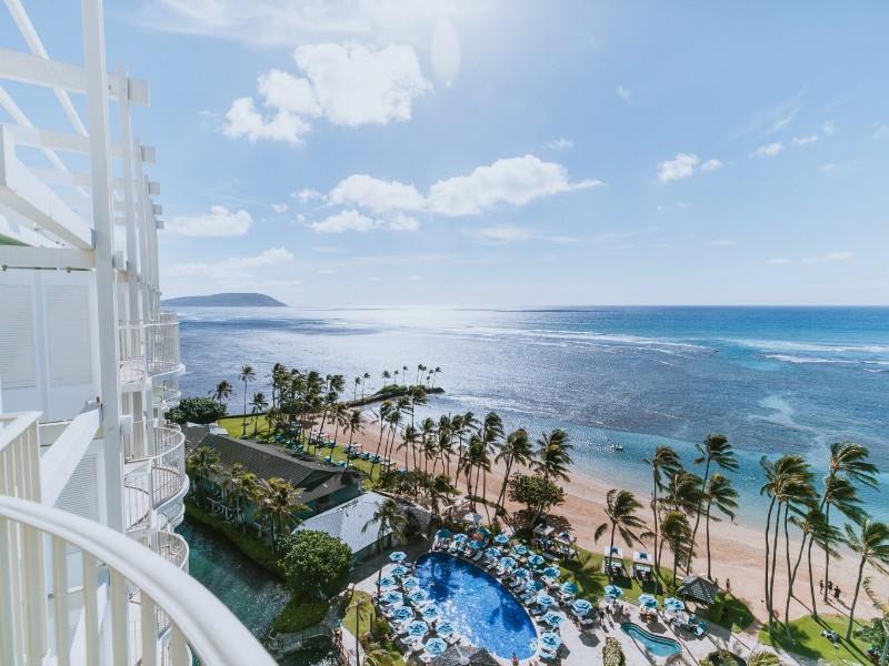 The Kahala Hotel & Resort ocean view