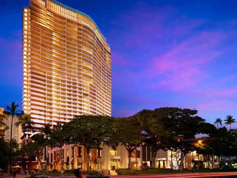 Exterior of Ritz-Carlton Residences Waikiki Beach, Honolulu, Hawaii