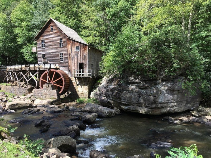 Babcock State Park mill scene