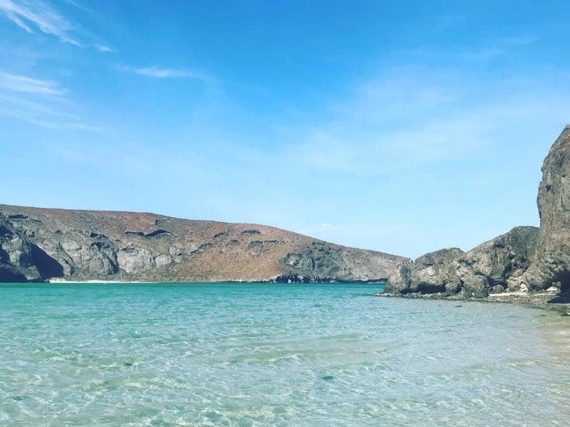 Playa Balandra near La Paz, Baja California Sur, Mexico