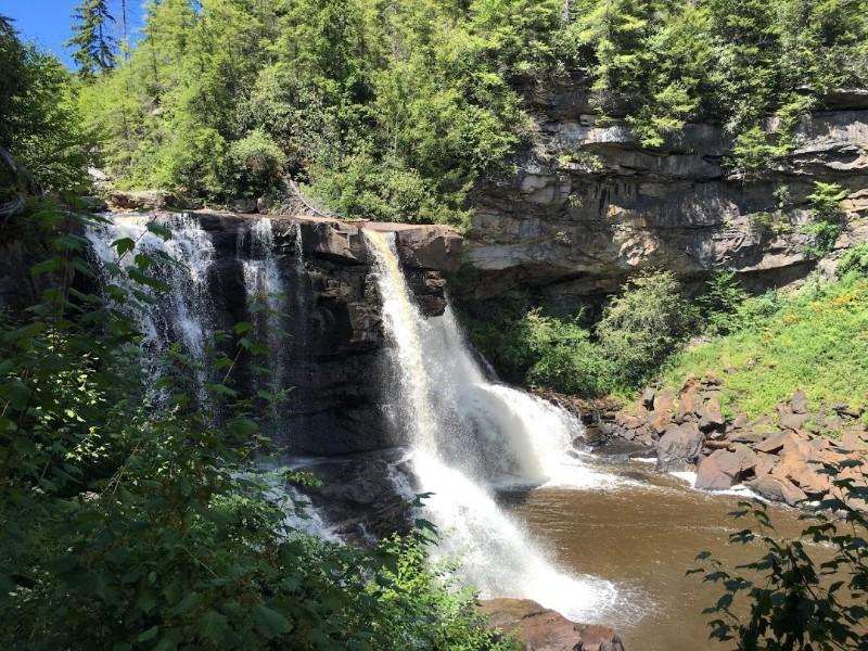 Waterfall at Blackwater Falls State Park