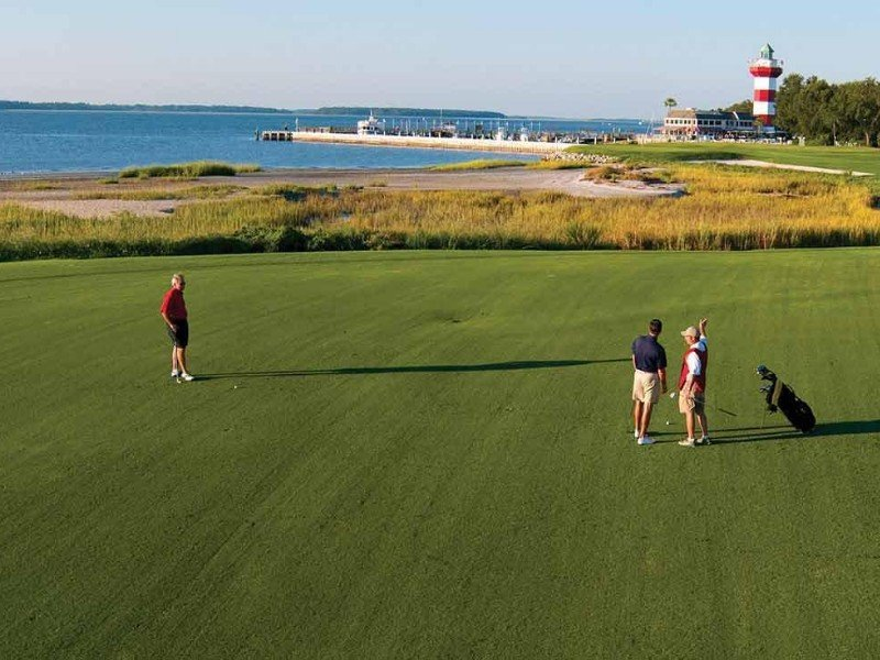 Golfing at the Sea Pines Resort on Hilton Head Island