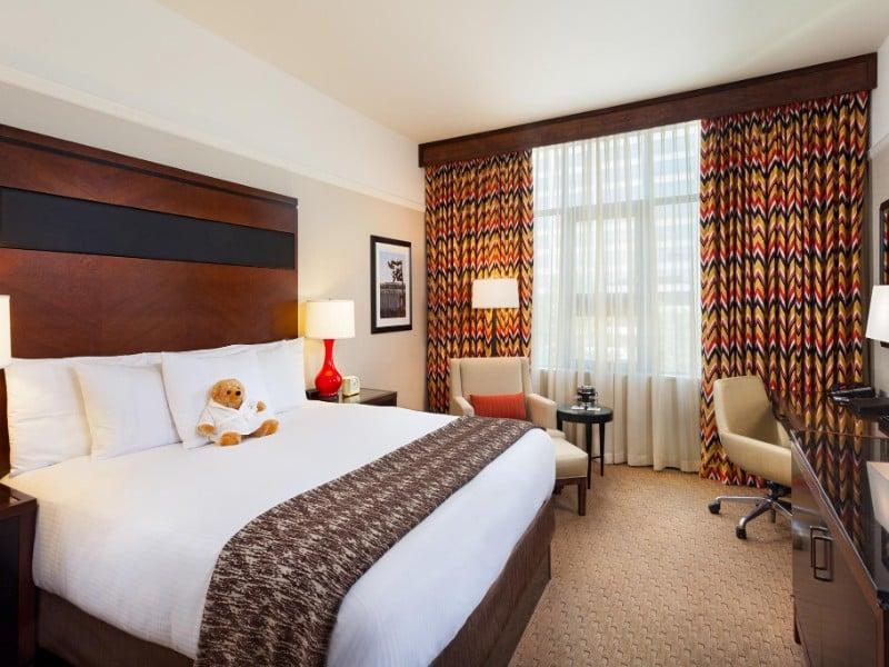 Room at Hotel 43