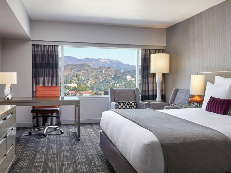 Room at Loews Hollywood Hotel