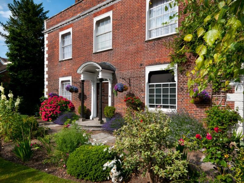 Exterior of Milford Hall Hotel & Spa, Salisbury, UK