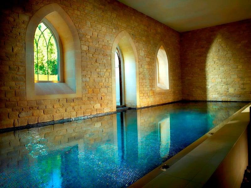 Spa and bath house at Royal Crescent Hotel & Spa, Bath, UK