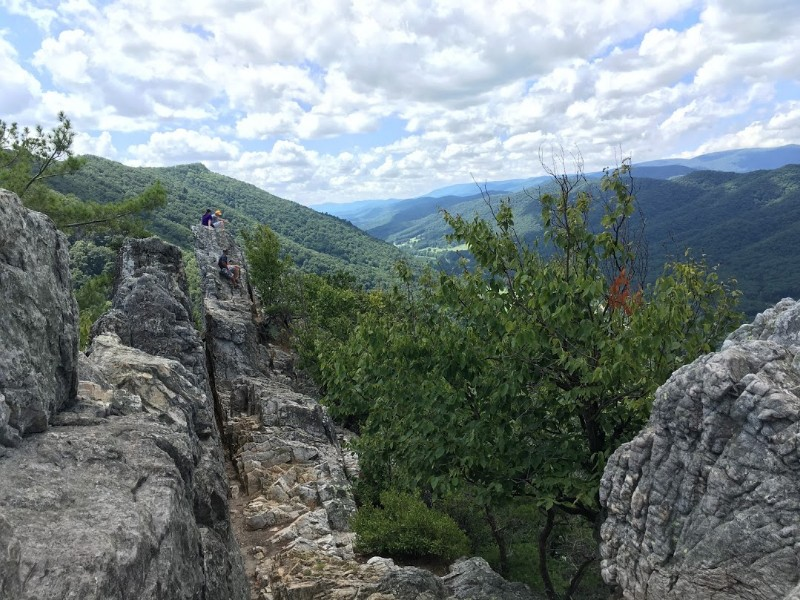 Seneca Rocks viewpoint