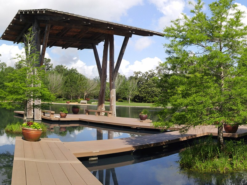 Shangri La Botanical Garden in Orange, TX