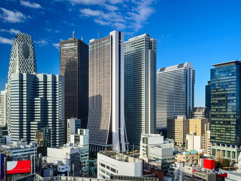 West Shinjuku, Tokyo skyscraper district