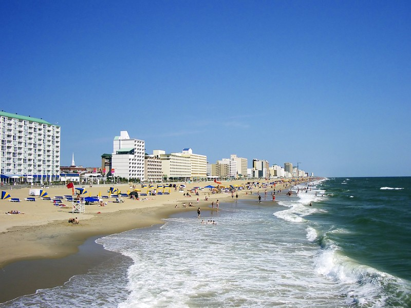 Beach vacation in Virginia Beach, Virginia