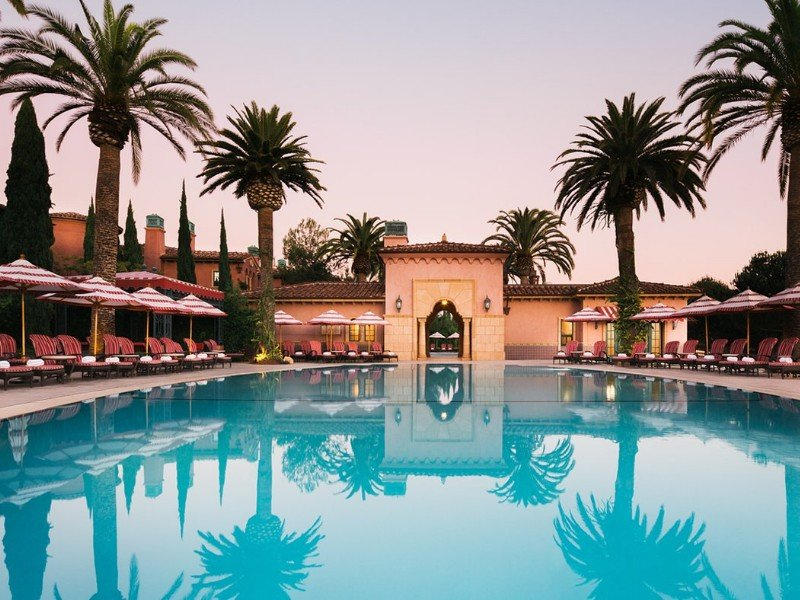 Swimming pool at Fairmont Grand Del Mar, San Diego