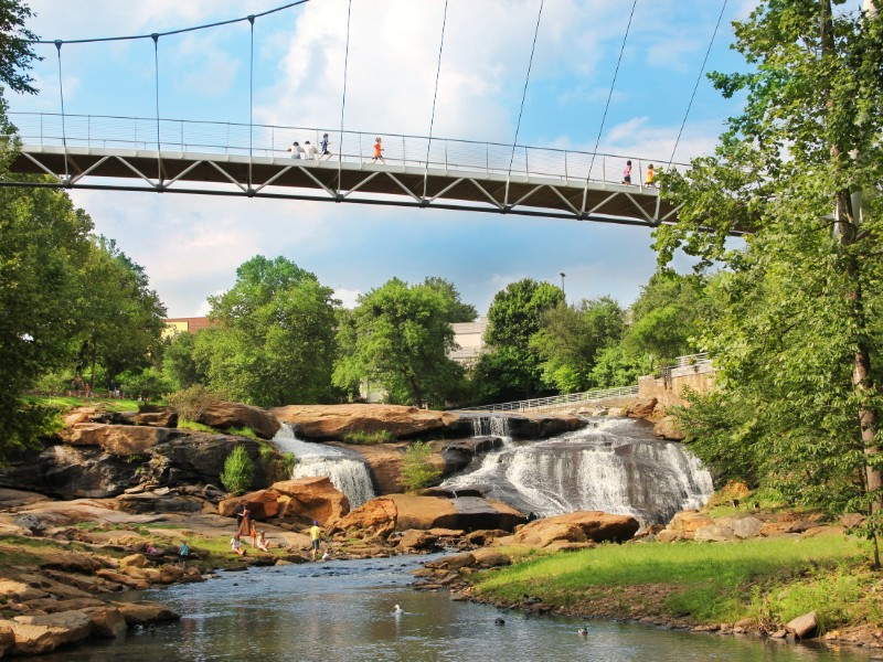 Bridge at Falls Park