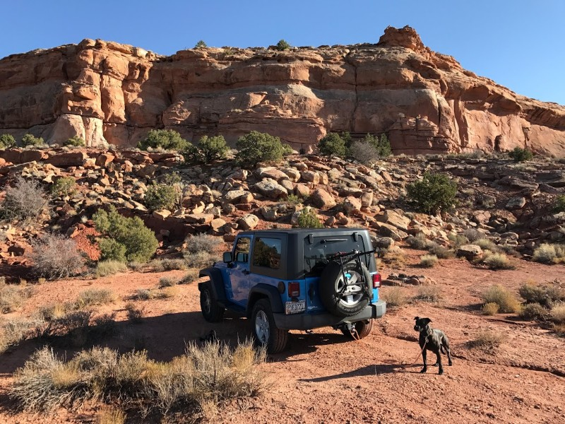 Jeeping in Moab