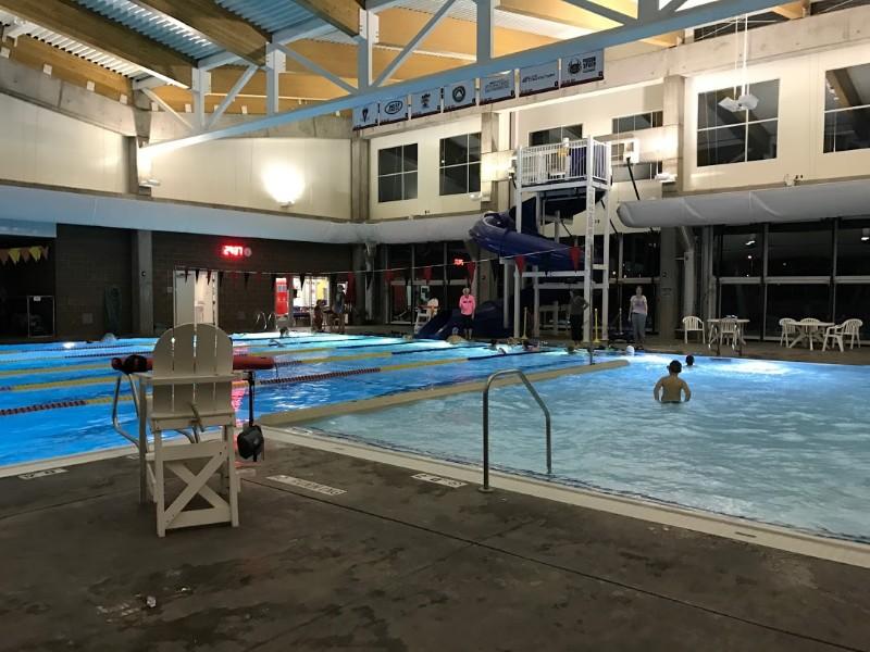 Moab community aquatic center pool
