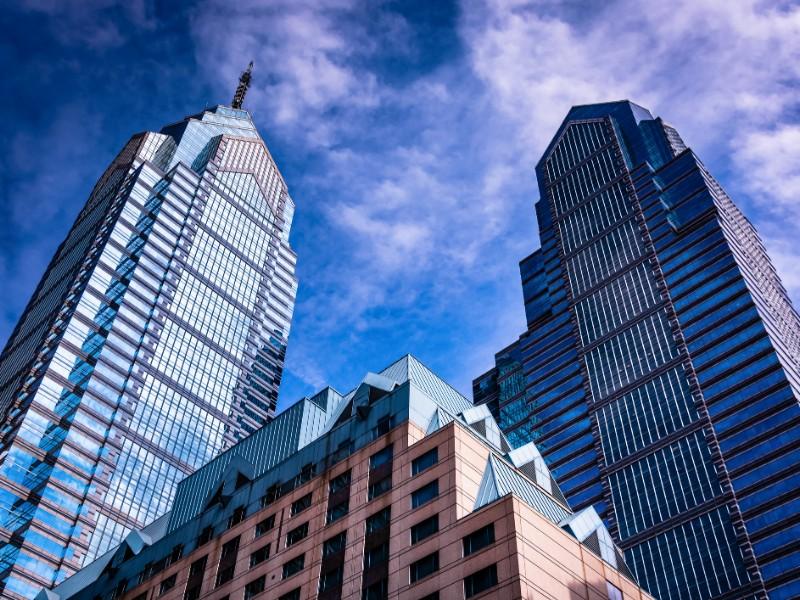 Skyscrapers in Center City, Philadelphia