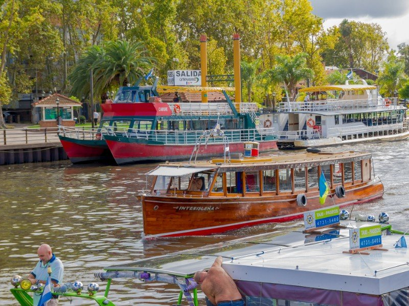 Boat ride on the Lujan River, Tigre, Argentina
