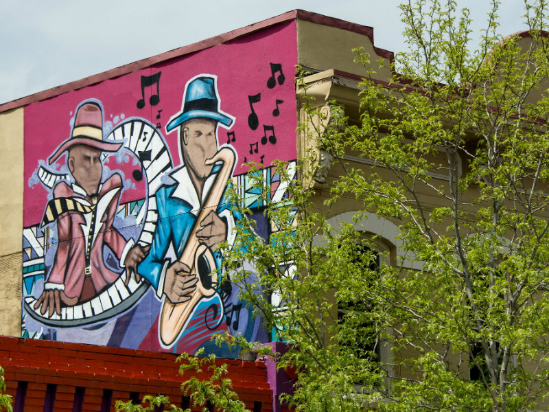 Five Points Jazz Mural