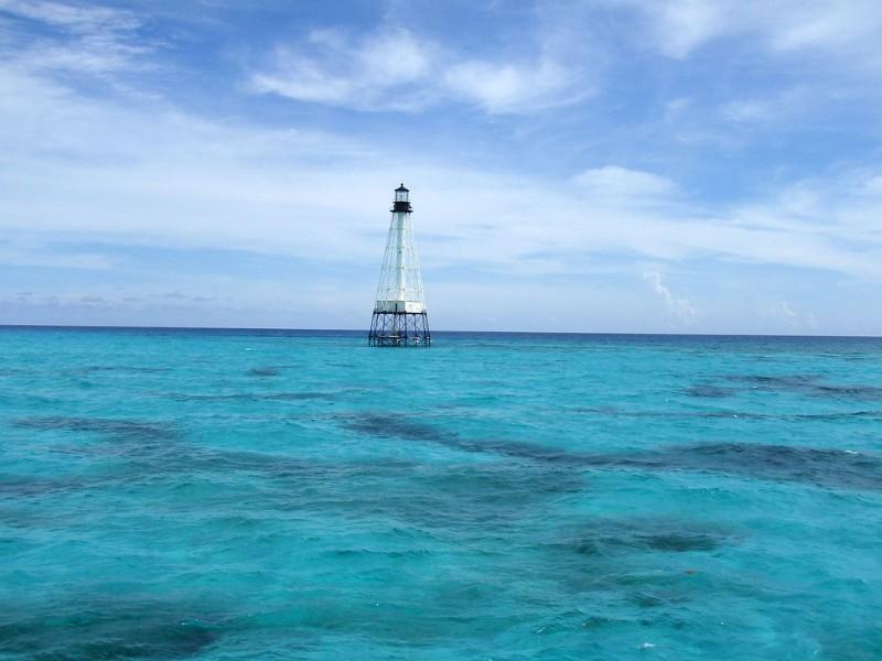 Alligator Reef Lighthouse near Islamorada, Florida