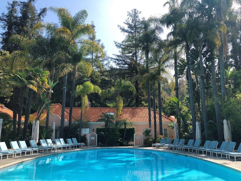 Pool at Hotel Bel-Air Los Angeles