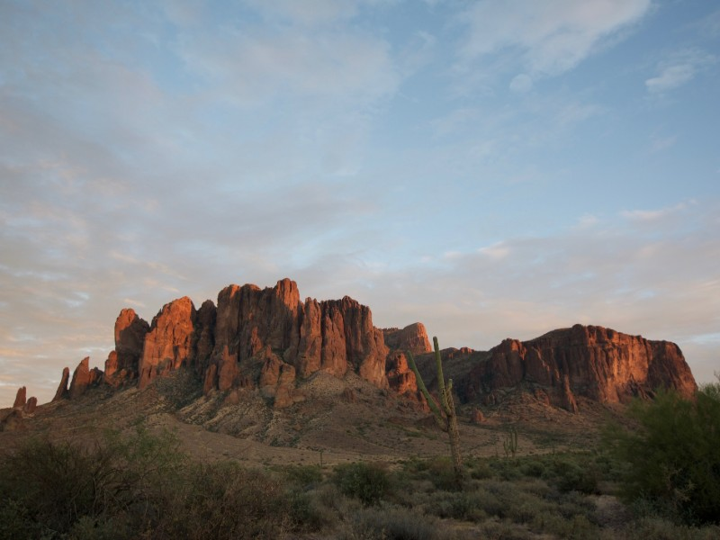 View at Lost Dutchman State Park