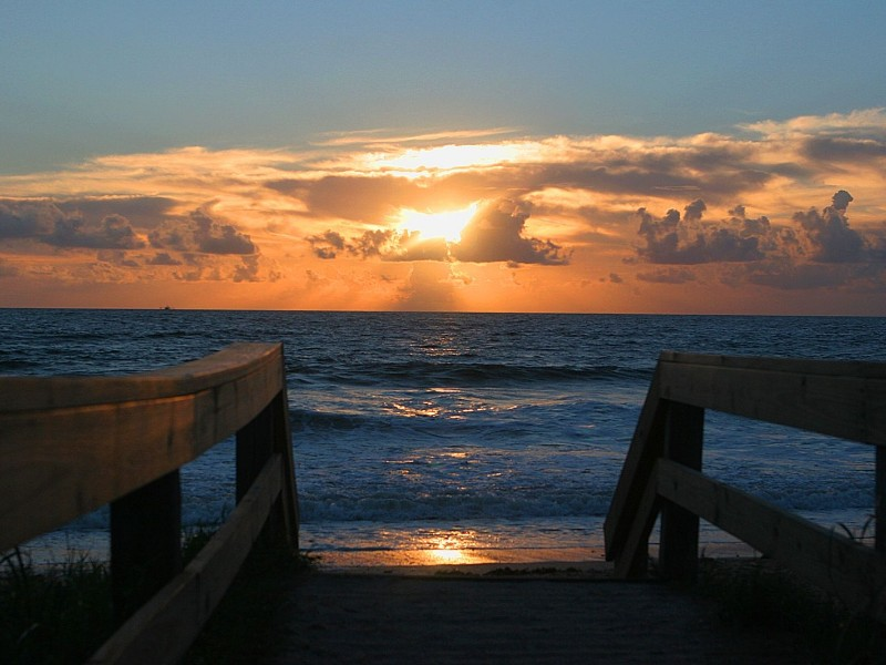 Sunrise over Ponte Vedra Beach, Florida