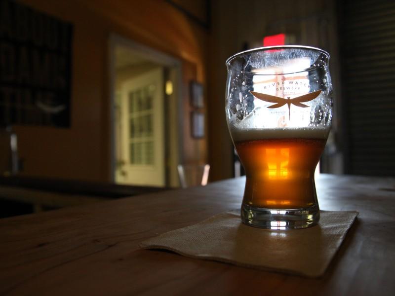 Beer at Riverwatch Brewery