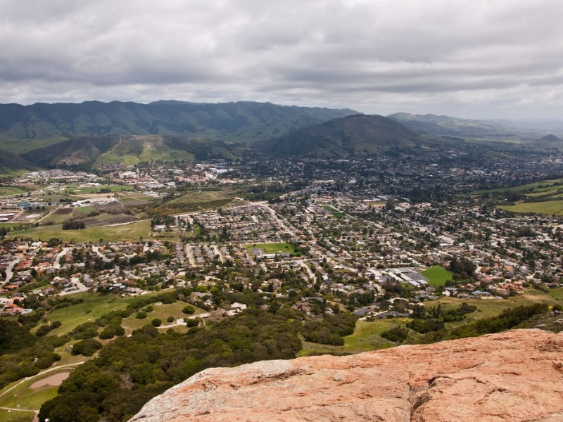 San Luis Obispo from Bishop's Peak