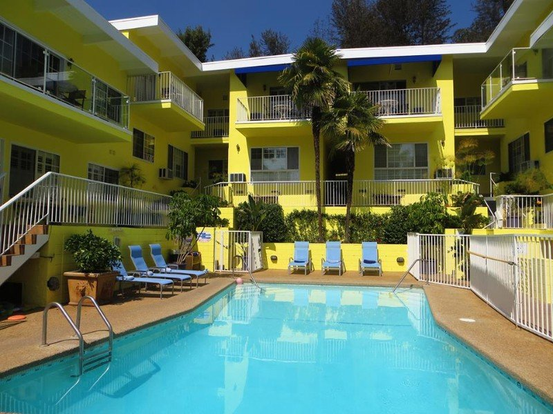 Pool at the Magic Castle Hotel