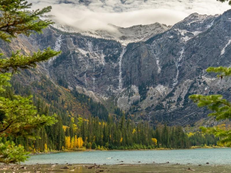 Glacier National Park, Montana in autumn