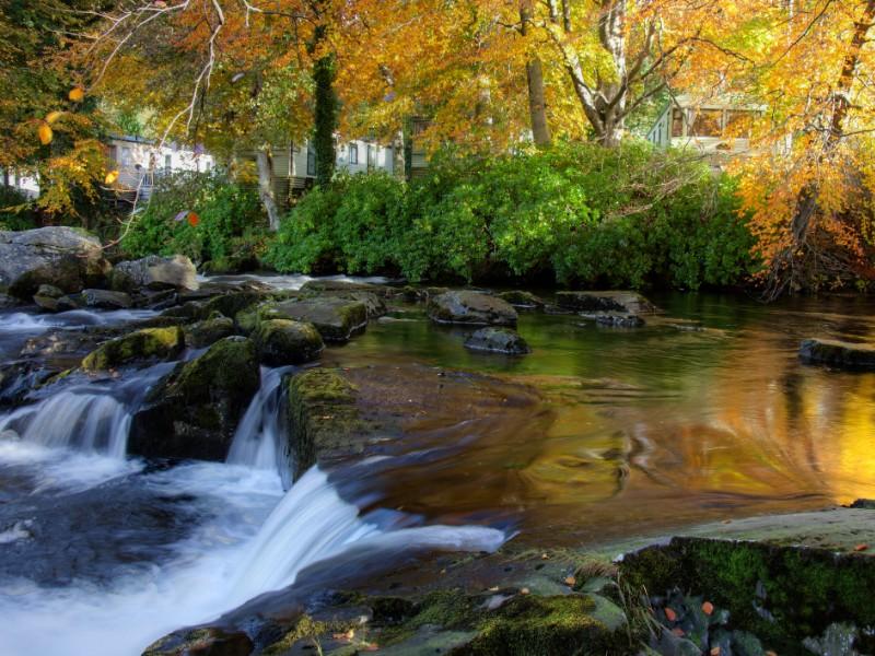 autumn in Snowdonia, Wales