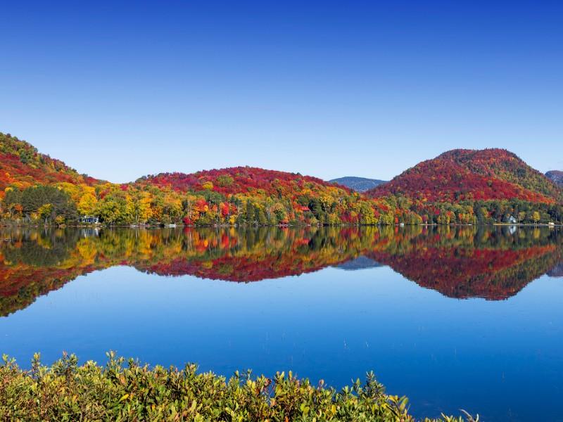 Fall at Mount Tremblant, Quebec, Canada