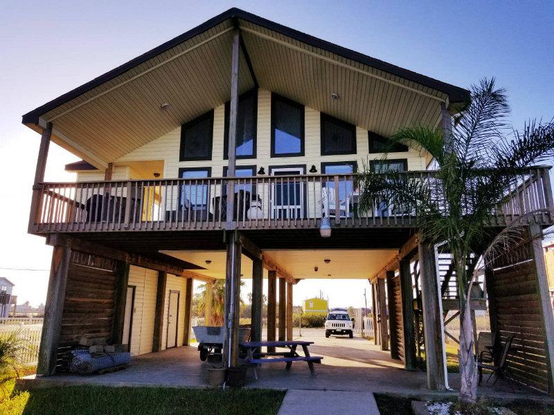 Stilted Home on a Bayou