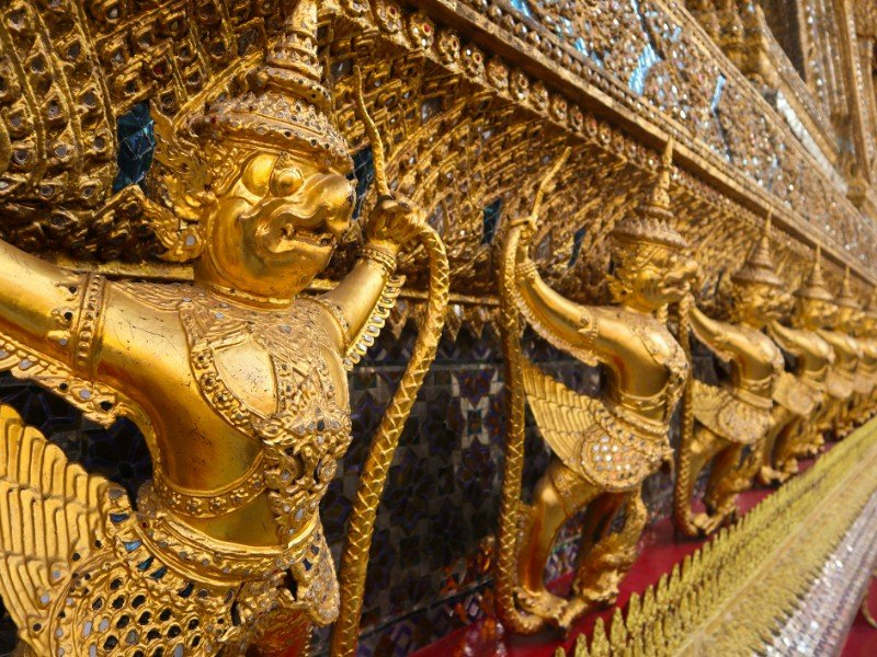 Wat Phra Kaew, commonly known in English as the Temple of the Emerald Buddha