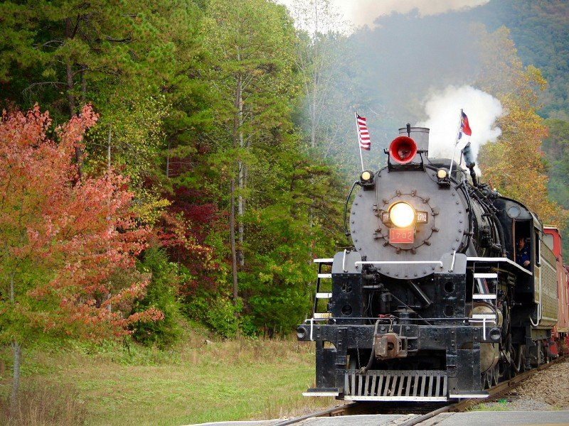 The Great Smoky Mountains Railroad