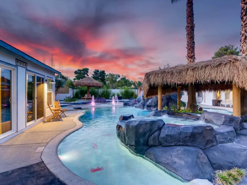 Mansion With Its Own Lazy River Airbnb, Las Vegas