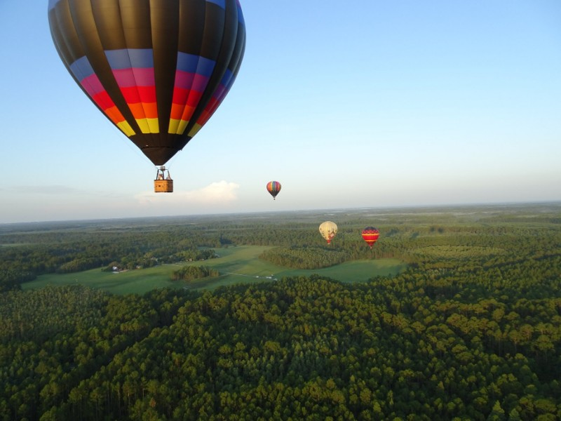 Painted Horizons Hot Air Balloon Tours Over Orlando