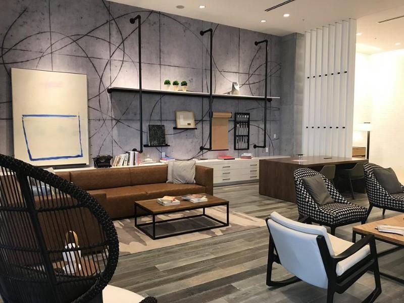 Seating area at Renaissance Atlanta Airport Gateway Hotel