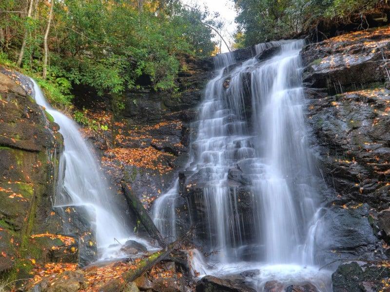 Soco Falls in Cherokee, N.C.