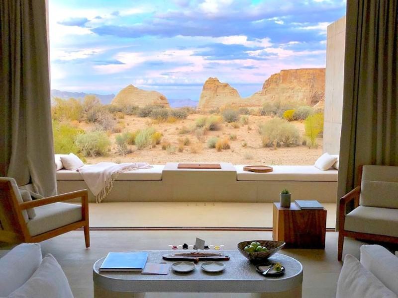 Room view at Amangiri