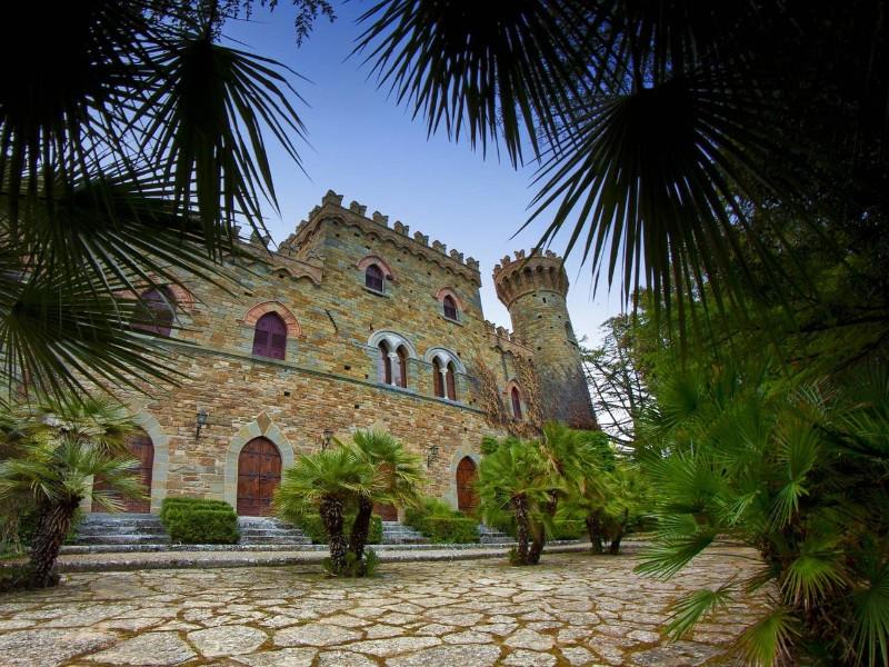 Borgia Castle in Tuscany, Italy