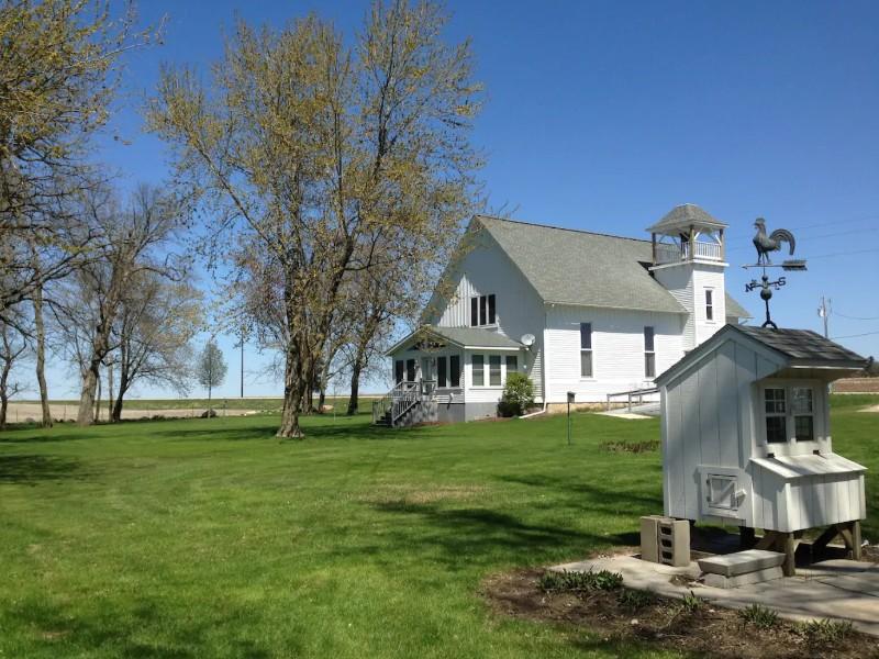 Elliott's Burr Oak Church, Osage, Iowa