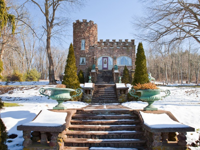 Cozy Storybook Castle, Ellington, Connecticut, Airbnb
