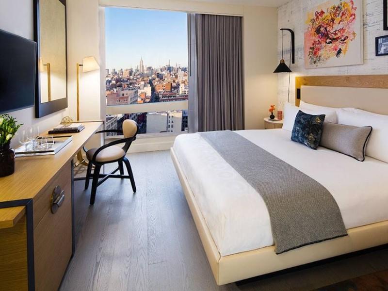 Room at Hotel 50 Bowery NYC