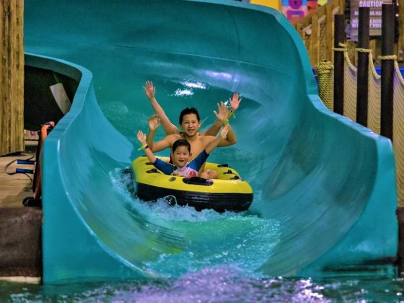 Slide at Kalahari Resorts