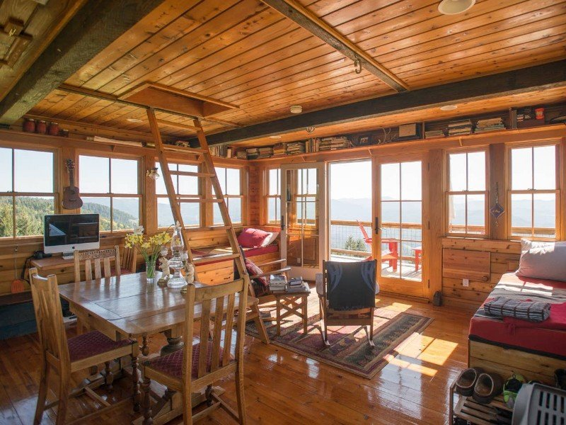 Off the Grid and 40-Feet Up
