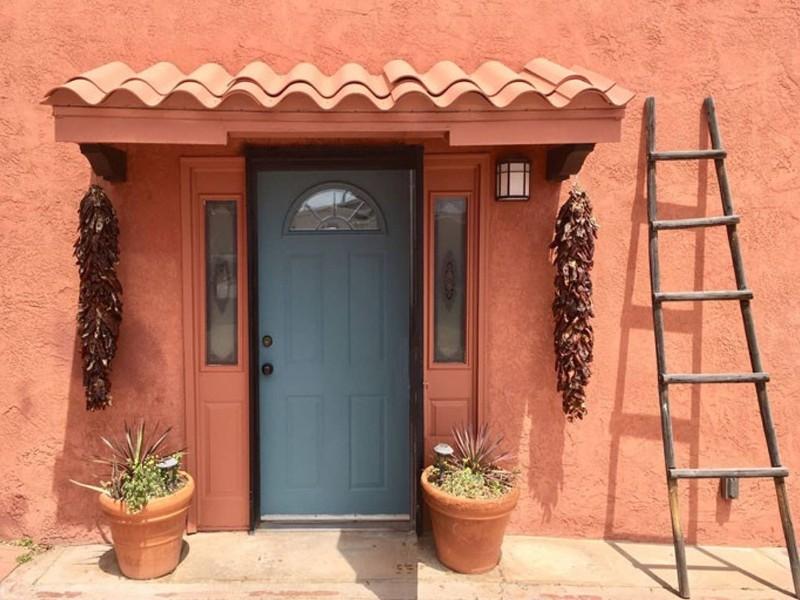 Door of Old Town Adobe