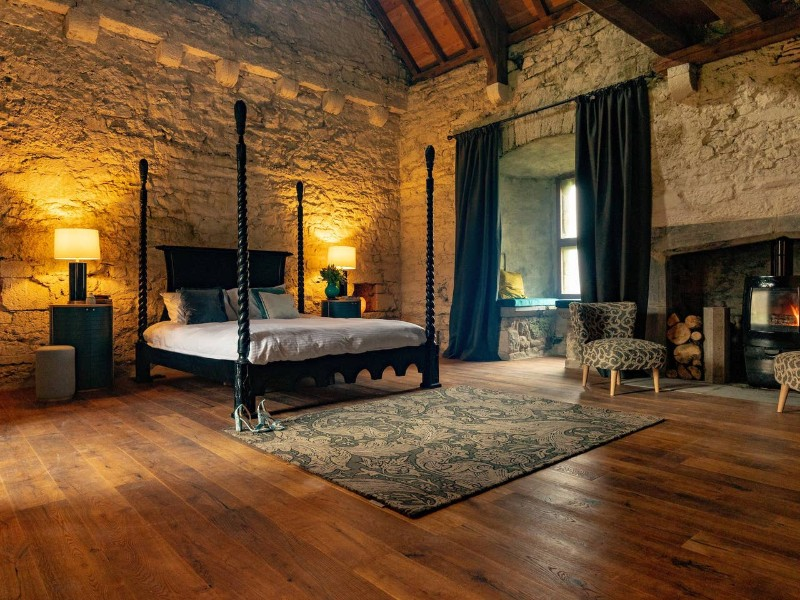 Ri Ailig bedroom at Your 15th-Century Castle, Kilkenny, Ireland Airbnb