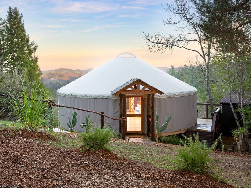 Rising Moon Yurt, Sebastapool, CA Airbnb