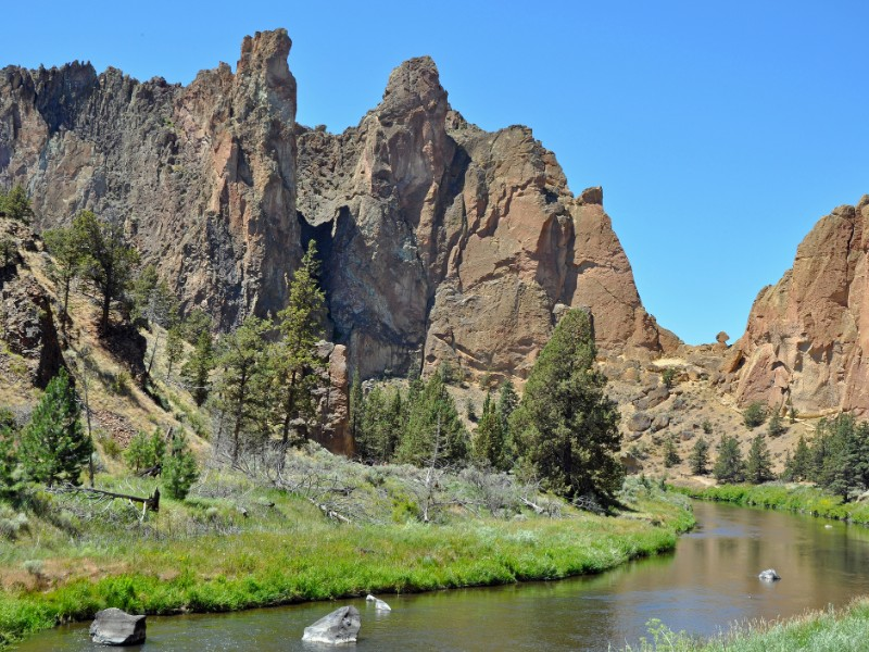 Beautiful Smith Rock State Park
